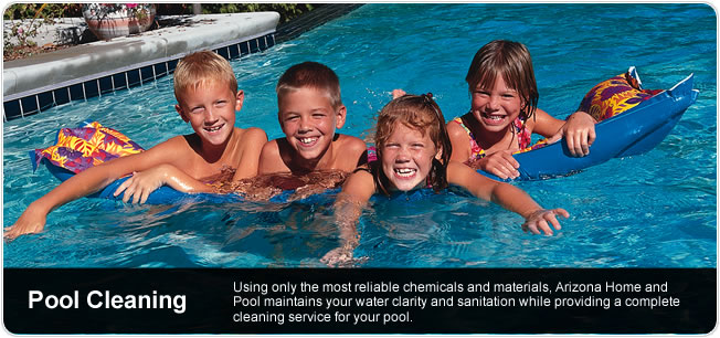Arizona Pool Cleaning - Maintain water clarity and sanitation