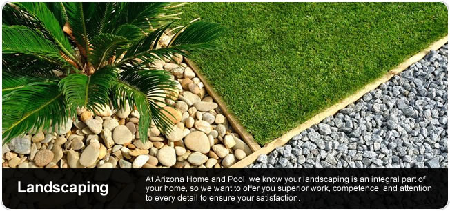 Arizona Landscaping - Superior work, competence and attention to detail